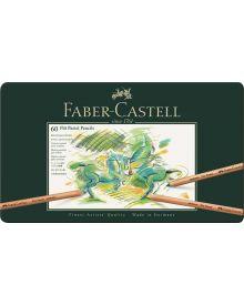 Faber-Castell Pitt Pastel Pencil, tin of 60