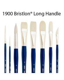 Silver Brush Bristlon Synthetic Long Handle Brushes