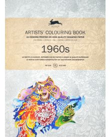1960's: Artists' Colouring Books - Paperback