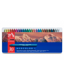 Caran d'Ache Neocolor I Wax Oil Crayons Ass. Pack of 30