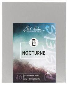 Richeson Hand Rolled Soft Pastel Nocturne, 40 Piece Set