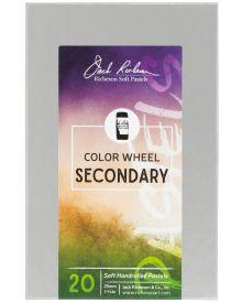 Richeson Hand Rolled Soft Pastel Colour Whe1el Secondary 20pc Set