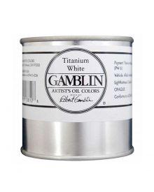 Gamblin Artitst's Oil Color - Titanium White, 500 ml (16oz)