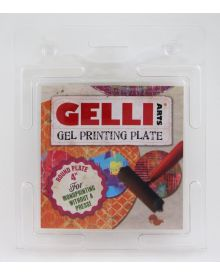 Gelli Printing Plate 4 Inch Round