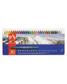 Caran d'Ache Neocolor II Water-Soluble Pastel Set of 30