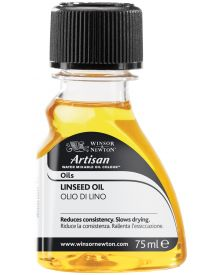 Artisan Water Mixable Linseed Oil 75ml