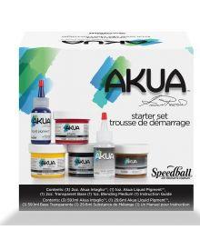 Speedball Akua Starter Set - 6 pc