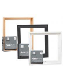 Ampersand Bold Edge Floater Frames - Maple | Black | White