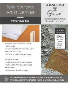 """Apollon Gotrick Gallery Artist Canvas Profile 1½"""""""