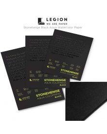 Legion Stonehenge Aqua Black Watercolour Pads
