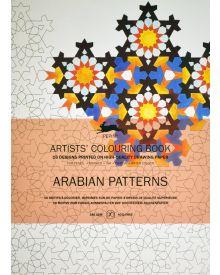 ARABIAN PATTERNS: Artists' Colouring Books - Paperback