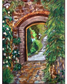 Arch to the Courtyard