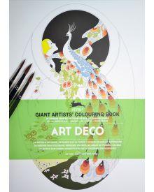 PEPIN GIANT Colouring Books - ART DECO