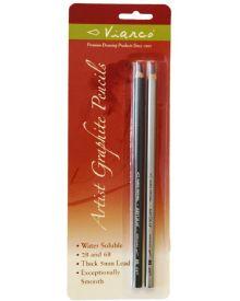 ArtGraf Water Soluble Carbon Black Pencils 2 pk