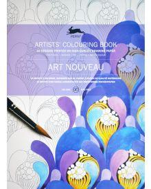 ART NOUVEAU: Artists' Colouring Books - Paperback