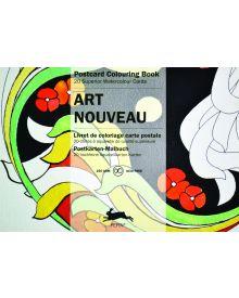 ART NOUVEAU: PEPIN POSTCARD COLOURING BOOK