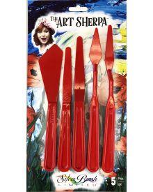 Art Sherpa Painting & Palette Knife 5pc Set