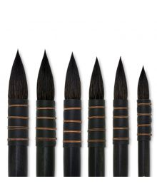 Silver Atelier Series Quill Squirrel Brushes