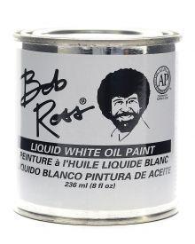 Bob Ross Liquid White Oil Paint - 8 oz.