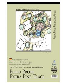 Bee Extra Fine Tracing Paper Pad 11 x 14 Inch