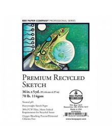 Bee Paper Premium Recycled Sketch 36-in x 5-yd.