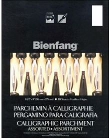 Bienfang Calligraphic Parchment Paper 8 1/2 x 11 Inch