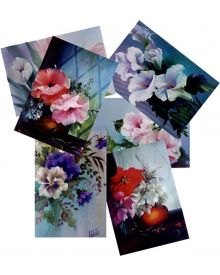 Bob Ross How To Floral Pattern Packets