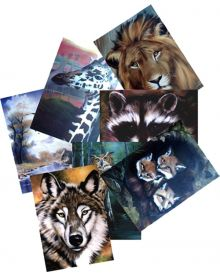 Bob Ross How To Wildlife Pattern Packets