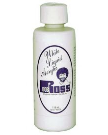 Bob Ross Liquid Acrylic White - 118 ml