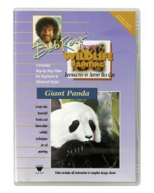 Bob Ross Wildlife Technique 'Giant Panda' DVD