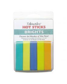 Enkaustikos Bright Hot Sticks Set 5-pack
