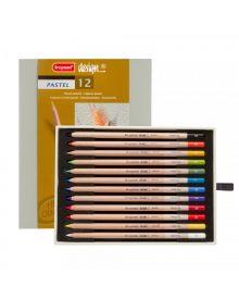 Bruynzeel-Sakura Pastel Pencil Set-12