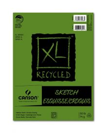 """Canson XL Recycled (Fold Over) Sketch Pad, 3.5"""" x 5.5"""""""