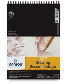"""Canson Classic Cream 90 lb (Top Wire) Pad, 9"""" x 12"""""""