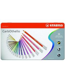 CarbOthello Pastel Coloured Pencil 36-piece Sets