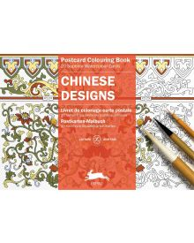 CHINESE DESIGNS: PEPIN POSTCARD COLOURING BOOK