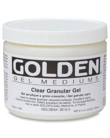 Golden Clear Granular Gel 8oz
