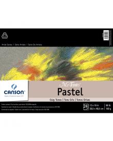 Canson MI-TEINTES Pastel 98 lb. Pad - Gray Tones, 12 x 16 Inch