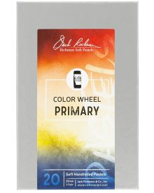 Richeson Hand Rolled Soft Pastel Colour Wheel Primary 20pc Set