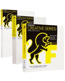 Fredrix Creative Series Acrylic Primed Poly/Cotton Gallery Canvas
