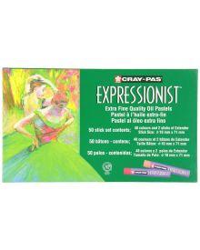 Cray-Pas Expressionist Assorted Colour Oil Pastel Set-50