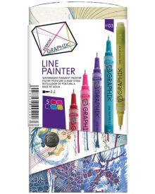 Derwent Graphik Line Painter Coloured Pens