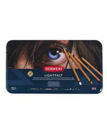 Derwent Lightfast Coloured Pencil Sets (72) Tin