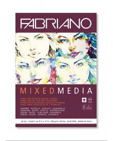Fabriano Mixed Media 40 sheets Block - 8-1/2 x 11-1/2 inches