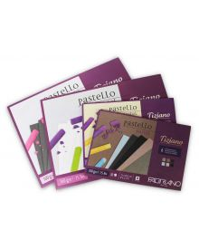 Fabriano Tiziano Pastel Paper Gummed Pads 160gsm Assorted