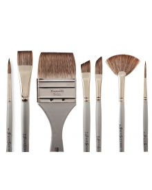 Dynasty Faux Squirrel Assorted Brush Series 1827