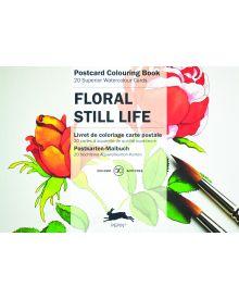 FLORAL STILL LIFE: PEPIN POSTCARD COLOURING BOOK
