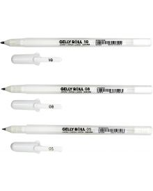 Gelly Roll Classic White Rollerball Pens