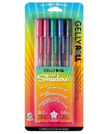 Gelly Roll Gold Shadow 5 Piece Set