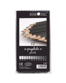 Fine Tec Graphite Pencil Set of 12